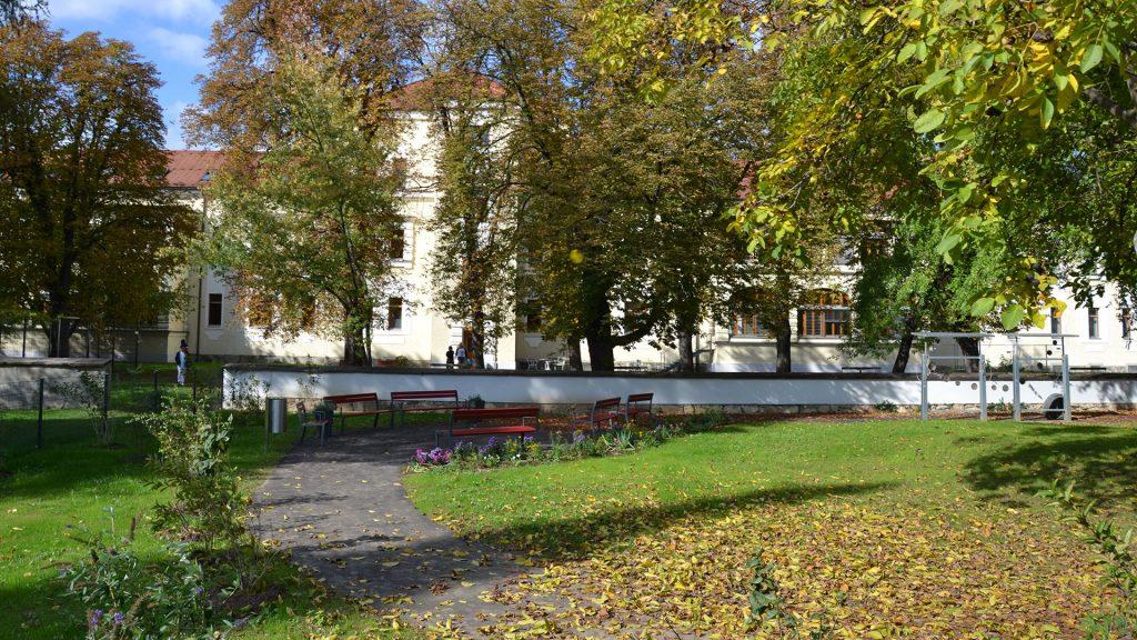 Garten Alterspsychiatrie LKH Graz Süd-West