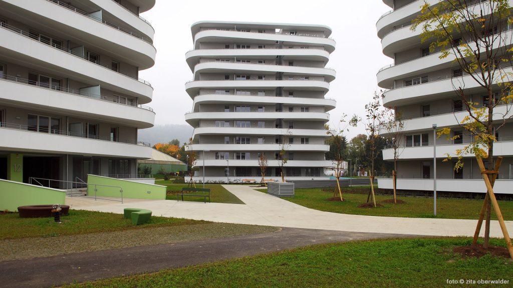 Wohnbau Green City Graz