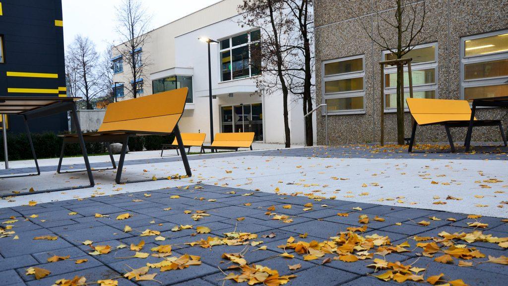 Farbkonzept TU Graz Inffeldgründe Maschinentechnische Institute