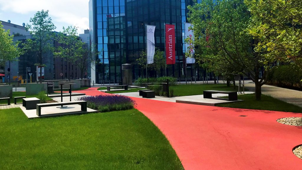 Austrian Airlines Headquarter Office Park Wien