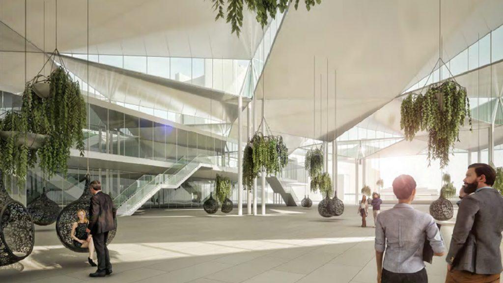 Wettbewerb Austria Center Wien mit Domenig & Wallner Architekten
