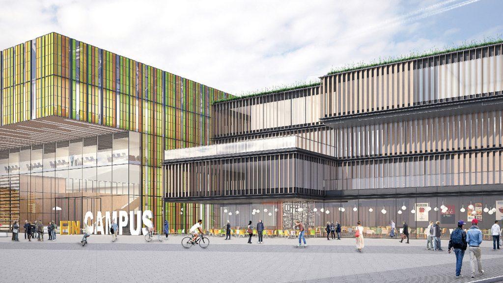 Wettbewerb Campus Biel mit ATP Architekten