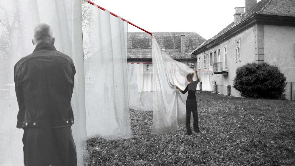 Gel. Wettbewerb Festivalcenter Steirischer Herbst mit MAEID – Future Retrospective Narrative