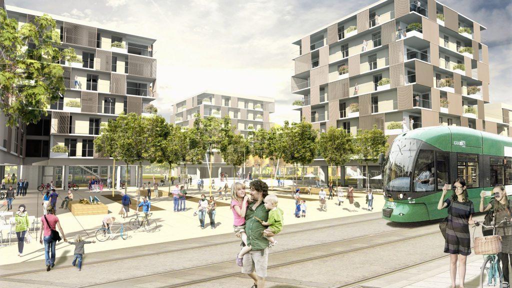 Wettbewerb Wohnbau Graz Reininghaus Quartier 6aSüd 1.Preis – mit KFR Architekten