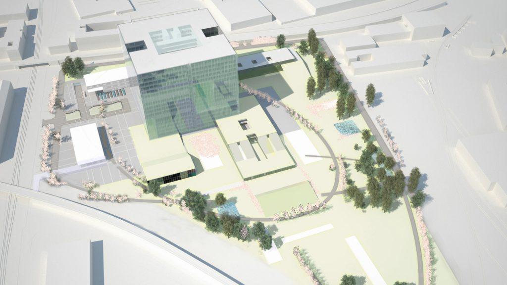 Wettbewerb Krankenhaus Nord Wien 3.Preis mit Moser Architekten