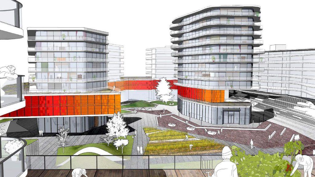 Wettbewerb Smart City Waagner Biro Graz mit ortlos Architekten